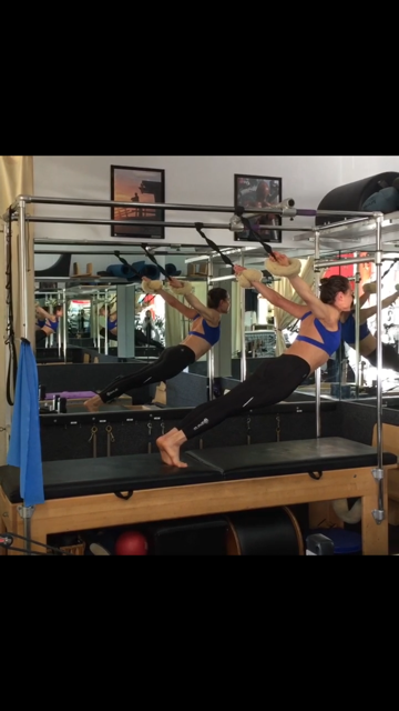 extension on trapeze